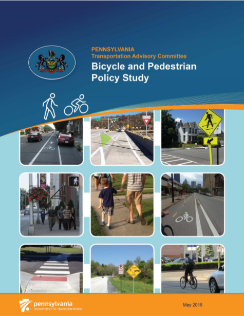 Bicycle and Pedestrian Policy Study cover