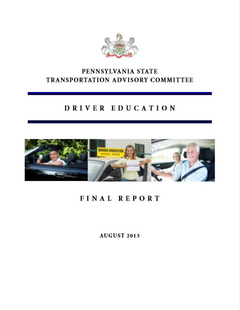 Driver Education cover