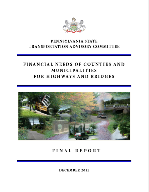 Financial Needs of Counties and Municipalities for Highways and Bridges cover