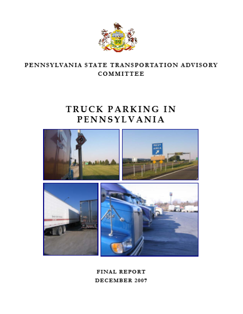 Truck Parking in Pennsylvania cover
