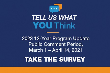 2023 12-Year Program Update Public Comment Period Concluded